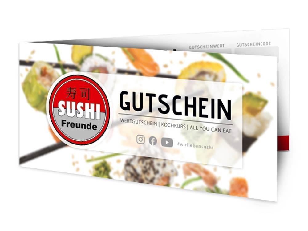 Sushifreunde Gutscheinkarte