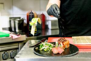 Sushifreunde Halle - Am Steintor | Blick in die Küche