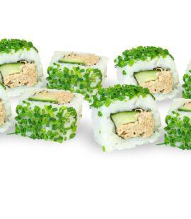 Sushifreunde - Tuna Inside Out Tunfisch, Gurke und Schnittlauch